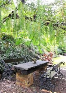 Sudut taman F. Widayanto, Tapos, Bogor